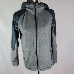 Under Armour cold gear full zip hoodie Small